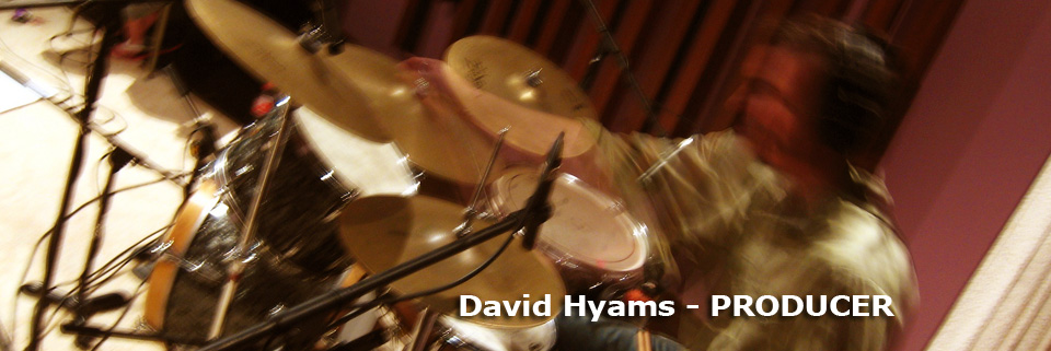 David Hyams and the Miles to Go Band - David Hyams - Producer